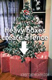 Christmas Fence Decorations Ideas For Baby Toddler U0026 Pet Proofing Your Christmas Tree And