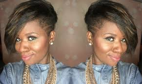natural hair tapered haircut with shaved sides beautylynk com