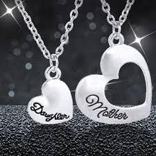 mothers necklaces wholesale new necklace dual heart pendants