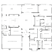 House Design App Mac Free Floor Plan For A Small House 1150 Sf With 3 Bedrooms And 2