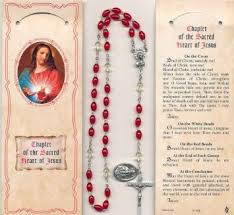 sacred heart rosary buy sacred heart rosary chaplet with rosary and