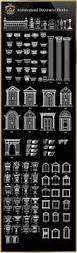 royal architecture decorative blocks u2013 cad design free cad