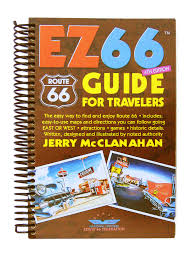 Show Route 66 Usa Map by Route 66 Ez66 Guide For Travelers 4th Edition Jerry Mcclanahan