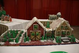 2014 gingerbread house competition entries