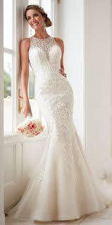 wedding dress high neck stella york 2017 wedding dresses world of bridal