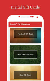 gift cards for free gift card generator
