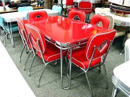 vintage metal kitchen table red retro kitchen see the red kitchen table set turquoise red yellow