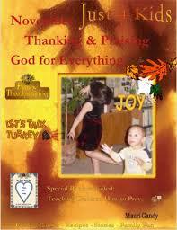 thanksgiving christian children november