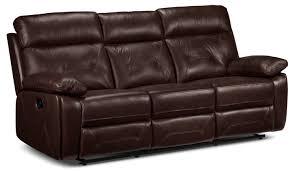 cognac leather reclining sofa sienna reclining sofa cognac leon s