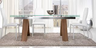 tavoli moderni legno tavolo mitho legno 180x100 220 260 unico italia tavolo