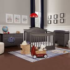Baby Convertible Cribs Furniture Davinci Meadow 3 Nursery Set 4 In 1 Convertible Crib