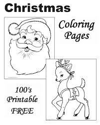 26 christmas coloring pages images coloring