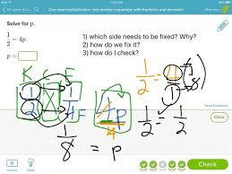 showme one step equations with fractions solving multistep worksheets last thumb14559 solving equations with fractions worksheets