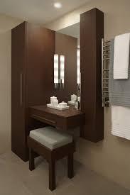 Towel Warmer Drawer Bathroom by Makeup Vanity In Closet Bathroom Contemporary With Vanity