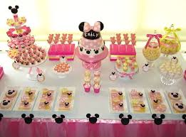 Fantastic Minnie Mouse 1st Birthday Decoration Baby Mouse Birthday