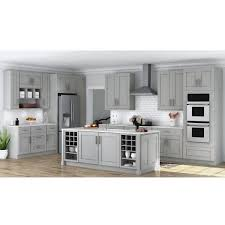 kitchen cabinet door handles home depot shaker assembled 18x84x24 in pantry kitchen cabinet in dove gray