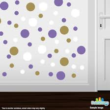 polka dot color combos decal venue