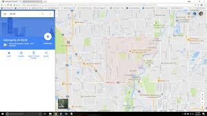 Zip Code Map Indianapolis by Wrong Zip Code In Indianapolis In Google Product Forums
