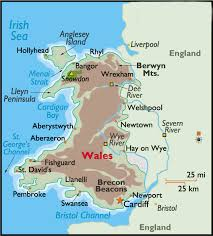 where is wales on the map placestours com wales hotels and resorts map of wales