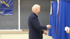 Joe Biden Resume Vice President Joe Biden Casts His Vote Video Abc News