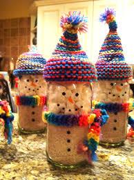 snowman jar chocolate fun things pinterest snowman
