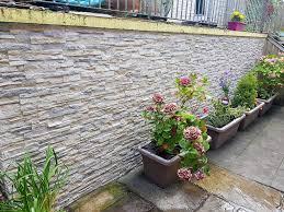 garden walls stone nepal frost deco stones