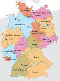 map of regions of germany abseits guide to germany home page