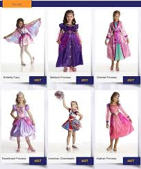 oem odm party city halloween costumes girls for dark princess