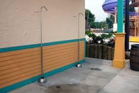 Outdoor Pool Showers - pool shower w hose bib u0026 drinking fountain lincoln aquatics