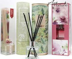 hot sale 50 ml fragrance scented reed diffuser with rattan sticks other related items