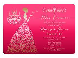 quinceaneras invitations marialonghi com