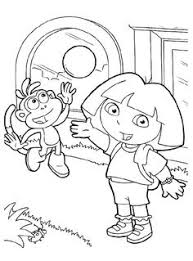 25 wonderful dora explorer coloring pages http procoloring
