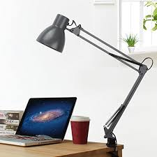 Swing Arm Desk Lamp With Clamp Best Swing Arm Desk Lamp Lamps Guide