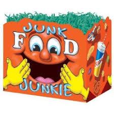 junk food gift baskets s gift baskets by design junk food junkie large