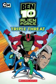 triple threat ben 10 alien force 3 tracey west