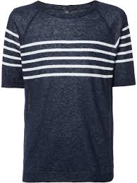 eleventy striped trim sweatshirt 111 navy men clothing sweatshirts