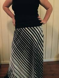 how to make a bias cut skirt with wide stretch waistband