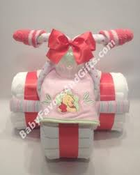 diper cake winnie the pooh tricycle cake babyfavorsandgifts