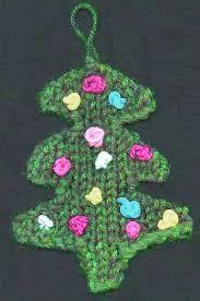 free tree ornament knitting pattern