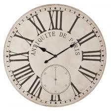 Grande Horloge Murale Carrée En Bois Vintage Achat Murale Ronde D100cm Style Vintage En Bois Décor Antiquité De