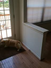 How To Remove Laminate Flooring Best Way To Remove This Entry Way Half Wall Homeimprovement