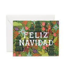 feliz navidad christmas card feliz navidad christmas card papershop