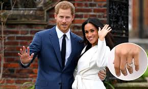 Engagement Photos Meghan Markle S Engagement Ring Look At Prince Harry S Choice