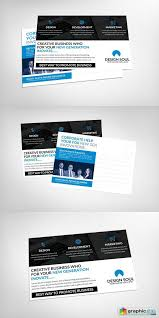 insurance agent postcard template free download vector stock
