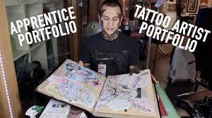 apprentice portfolio tattoo artist portfolio tips and advice