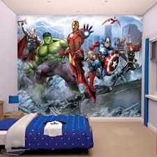 walltastic the avengers wallpaper mural toys