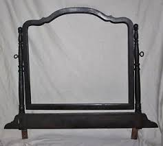 Antique Dresser Vanity Antique Dresser Vanity Top Swivel Base Mirror Frame Wood Only No