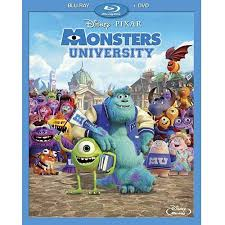 monsters university 2 disc blu ray dvd widescreen walmart