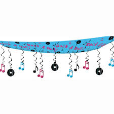 50s rock n roll decorations rock roll ceiling d cor