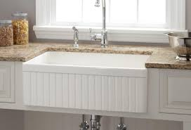 fireclay farmhouse sink kitchen sink faucets at lowes fireclay